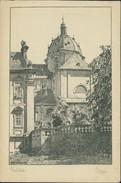 AK Fulda, Dom Nach Federzeichnung Von Prof. Dr. Otto Ubbelohde, Ca. 1920er Jahre (6552) - Fulda