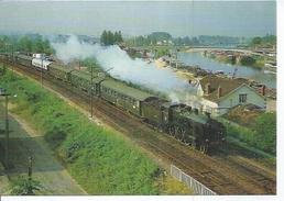 94 - LE SPECIAL VIGNEUX-LE TREPORT DE JUIN 1983 A CONFLANS Ste HONORINE - LOCOMOTIVE 230 G 353 - Conflans Saint Honorine