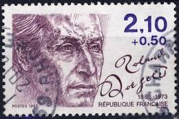 2359 ROLAND DORGELES OBLITERE ANNEE 1985 - Frankreich