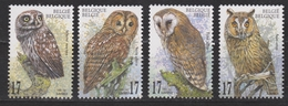 Belgie , Belgique, Belgium, Belgica Nr 2857-2860 MNH 1999  ; Uil Owl, Hibou, Eul, Uilen NOW MANY BIRD STAMPS - Uilen