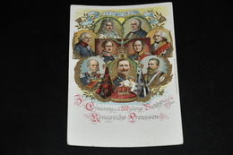 479- Zur Erinnerung A. D. 200 Jährige Bestehen Des Königreichs Preussen / Animiert - Familles Royales