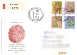 1976 - JOURNEE DU TIMBRE GLARIS - VC: 7.00 CHF - FDC