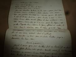 Avant L'année  1800 : RECETTE Pour Faire Le SAVON Avec De La Cendre Ordinaire,du Sel Marin, Etc, Etc... - Manuscrits