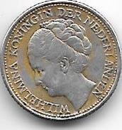 *curacao1/10 Gulden  1944 D    Km 43 Xf+ - Curacao