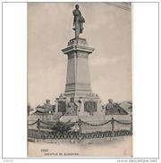 PTVDTPA267CP-LFTM6173TARMO.Tarjeta Postal DE PONTEVEDRA.ARTE.Escultura,Politico.Monumento.ESTATUA DE  ELDUAYEM .VIGO. - Monuments