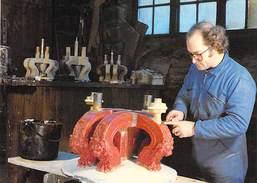 50 - Villedieu Les Poeles - FONDERIE De CLOCHES CORNILLE HAVARD - Fabrication Du Modèle De La Couronne - Villedieu