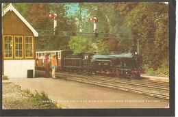 G.B. Hythe Station. Samson Entering. - Stazioni Con Treni
