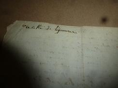Avant L'année  1800 : RECETTE De LIQUEUR (eau De Café, Etc) - Manuscripts
