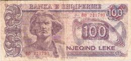 ALBANIE   100 Leke   1994   P. 55b - Albanie