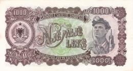 ALBANIE   1000 Leke   1957   P. 32a   AUNC - Albanie