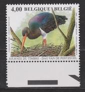 Belgie, Belgique, Belgium, Belgica 3439 MNH 2005  Ooievaar, Stork, Storch, Cogogne, Zwarte Ooievaar - Storks & Long-legged Wading Birds