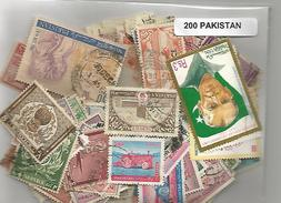 Lot 200 Timbres Du Pakistan - Pakistan