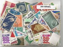 Lot 200 Timbres D'Israel - Israel