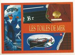 CPM, Les Toiles Sur Mer , Maïta , Brest 92 -96-2000, Ed. Brest - Arts