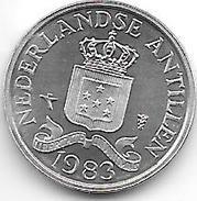 *netherlands Antilles  1 Cent 1983  Km 8a   Bu - Netherland Antilles