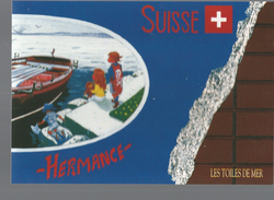 CPM, Les Toiles Sur Mer , Hermance  , Brest 92 -96-2000, Ed. Brest - Arts