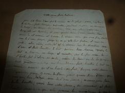 Avant L'année  1800 : RECETTE Pour Faire Du SAVON Avec De L'eau De Pluie Ou De Rivière Et Des Cendres, Etc - Manuscripts
