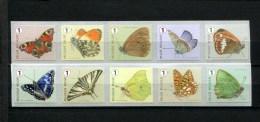 293397348  POSTFRIS MINT NEVER HINGED POSTFRISCH EINWANDFREI Butterflies Vlinders Roln Bij Tweekleurig Hooibeestje En Gr - Unused Stamps