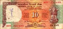 INDE 10 ROUPIES De1997nd Pick 88ab - Inde