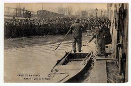 Paris, Quai De La Rapée. Crue De La Seine. - Inondations De 1910