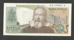 ITALIA - 2000 Lire GALILEO - (Firme: Baffi / Stevani) Repubblica Italiana - [ 2] 1946-… : Républic