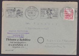 """Leipzig MWSt. """"Altpapier Nicht In Den Ofen Sondern Zum Altstoff-Handel"""" Rumpelstilzchen, Zwerg Gnom - [6] Democratic Republic"""