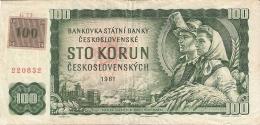 TCHEQUIE   100 Korun   ND (1993-old Date 1961)   P. 1c - Czech Republic
