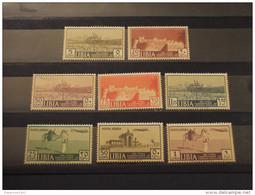 LIBIA - 1939 VEDUTE 8 VALORI - NUOVI(+/++)gomma Originale - Libia