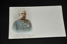 481- Zur Erinnerung An Das 50 Jähr. Regierungs-Jubiläum Des Kaisers Franz Josef I - Familles Royales