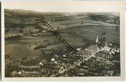 Weppersdorf - Fliegeraufnahme - Burgenland - Foto-Ansichtskarte - Österreich