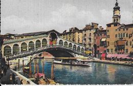 VENETO - VENEZIA - PONTE DI RIALTO - COLORATA ANNI '30 - ED CECAMI - NUOVA NV - Venezia