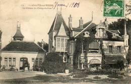 CPA - VILLENEUVE-sur-YONNE (89) - Aspect Du Château Du Champ-du-Guet En 1908 - Villeneuve-sur-Yonne