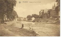 ROCHEFORT : Paysage Au Pont De Pierres - TRES RARE CPA - Cachet De La Poste 1928 - Rochefort