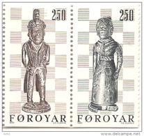 Faroe Islands 1983 Chess ,  Mi 82-83 , MNH(**) - Féroé (Iles)