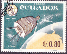 "Ecuador - UTI ""Relay"" (MiNr. 1192) 1966 - Gest. Used Obl.   !!lesen/read/lire!! - Equateur"