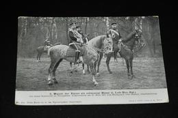 483- S. Majest. Der Kaiser Als Schwarzer Husar / Animiert - Familles Royales