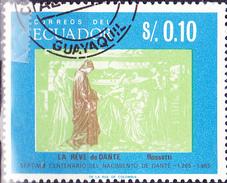 """Ecuador - """"Dantes Traum"""", Gemälde Von Rosetti (MiNr. 1220) 1966 - Gest. Used Obl.   !!lesen/read/lire!! - Ecuador"""