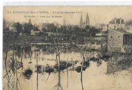 SOISSONS -  Faubourg De Reims - Inondations 23 Et 25 Janvier 1910 - 23 - Soissons