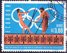 Ecuador - Geschichte Olympia (MiNr. 1266) 1966 - Gest. Used Obl.   !!lesen/read/lire!! - Equateur