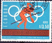 Ecuador - Geschichte Olympia (MiNr. 1267) 1966 - Gest. Used Obl.   !!lesen/read/lire!! - Equateur