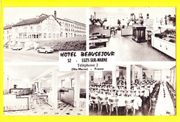 * Luzy Sur Marne (Dép 52 - Haute Marne - France) * (Combier Macon) Hotel Beausejour, Restaurant, Intérieur - Autres Communes