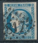 N°45 BORDEAUX BLEU FONCE VARIÉTÉ FILETS.