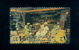 EGYPT / 2014 / OLD ARAB POPULAR CAFE / WORLD HERITAGE DAY / AGRICULTURAL MUSEUM-EGYPT / MNH / VF - Nuovi