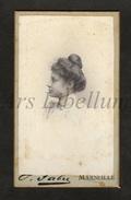 Photo-carte De Visite / CDV / Jeune Femme / Young Woman / Photo Fabre / Marseille / 1899 / Germaine Casse - Personnes Identifiées
