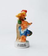 Fève Le Coq Et Le Renard Fable Fables De La Fontaine  - T24 - Geluksbrengers