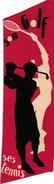 1 Book Mark  Signet Hotel Miramar Fedhala Maroc  GOLF TENNIS - Trading Cards