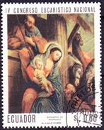 Ecuador - Hl. Familie; Von Bernardo De Rodríguez (MiNr. 1338) 1967 - Gest. Used Obl. - Equateur
