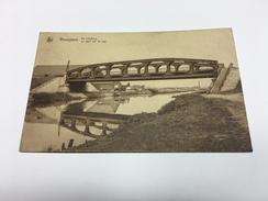Wevelghem Wevelgem Leiebrug Brug Op De Leie Le Pont Sur La Lys - Wevelgem