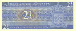 NETHERLANDS ANTILLES P. 21a 2,50 G 1970 UNC - Netherlands Antilles (...-1986)