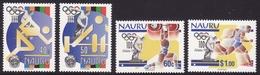 Nauru #437-40, F-VF Mint NH ** 1996 Atlanta Summer Olympics - Summer 1996: Atlanta
